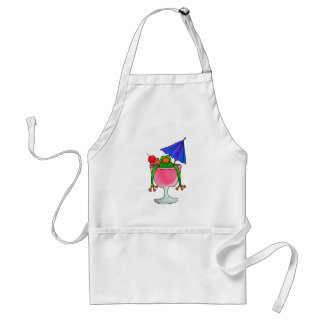 Cocktail Frog Adult Apron