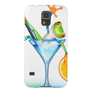 Cocktail Frog Galaxy S5 Cover