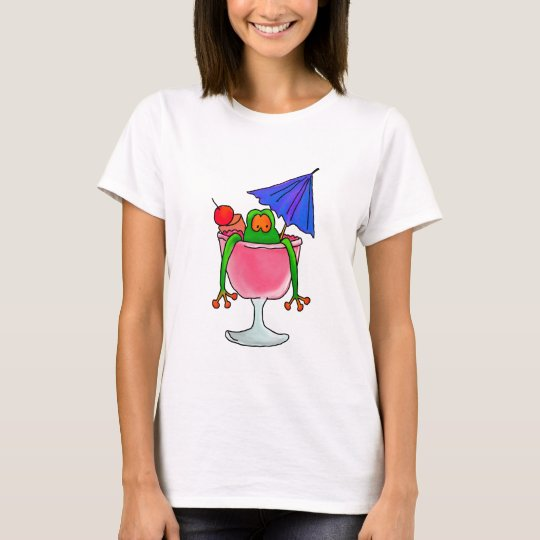 Cocktail Frog T-Shirt