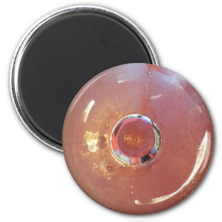 Cocktail Glass 2 Inch Round Magnet