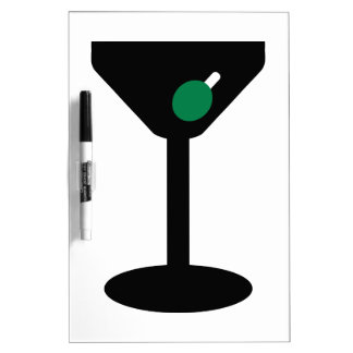 Cocktail glass Dry-Erase board