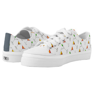 Cocktail Glass Mixed Drink Martini Cosmo Manhattan Low-Top Sneakers