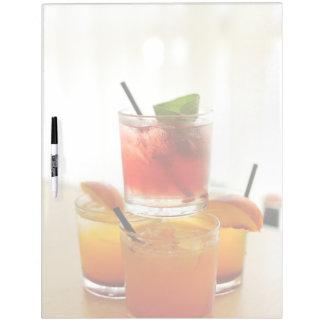Cocktail glasses Dry-Erase boards