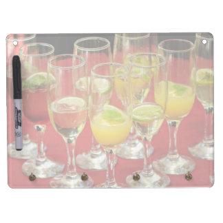Cocktail glasses dry erase board