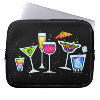 COCKTAIL GLASSES ELECTRONICS LAPTOP BAG