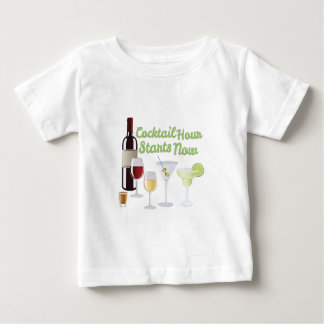Cocktail Hour Baby T-Shirt