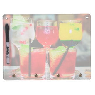 Cocktail hour dry erase board