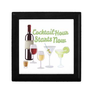 Cocktail Hour Keepsake Box