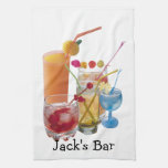 Cocktail Hour Kitchen Towels