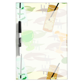 Cocktail Hour Noteboard Dry Erase Whiteboards
