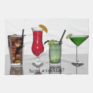 Cocktail kitchen towel