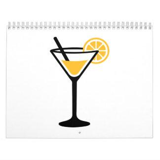 Cocktail lime calendar