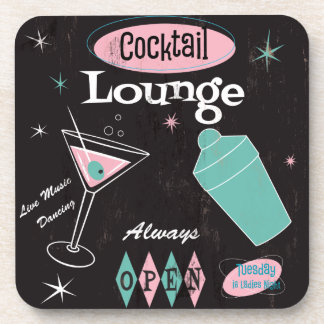 Cocktail Lounge Coaster set