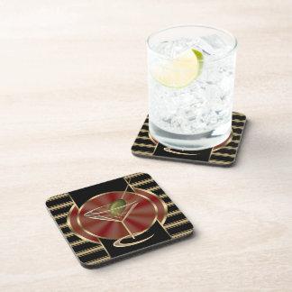 Cocktail Lounge Coaster Set 6