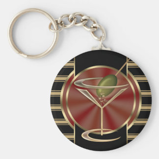 Cocktail Lounge Key Chain