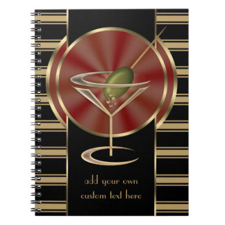 Cocktail Lounge Note Books