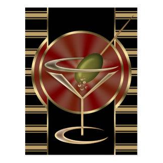 Cocktail Lounge Postcard