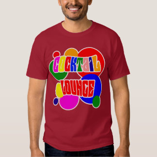 Cocktail lounge t shirt