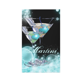 Cocktail martini cosmopolitan mixologist canvas print