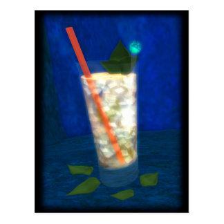 Cocktail: Mint Julep Postcard