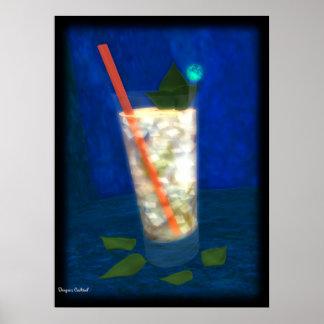 Cocktail: Mint Julep Poster