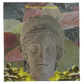 Cocktail Napkin (Cloth) for Nonae Caprotinae