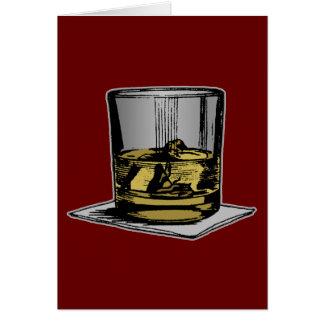 Cocktail & Napkin Design Greeting Card