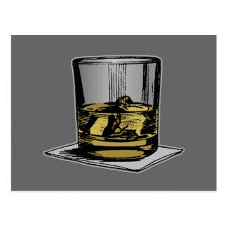Cocktail & Napkin Design Post Cards
