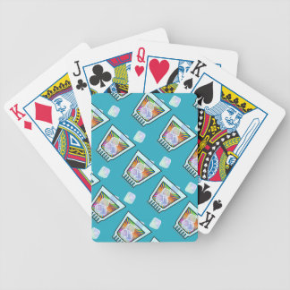 COCKTAIL - OLD FASHIONED - ROCKS GLASS BICYCLE PLAYING CARDS