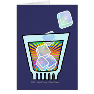 COCKTAIL - OLD FASHIONED - ROCKS GLASS CARD