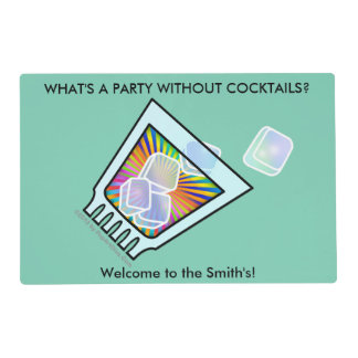 COCKTAIL - OLD FASHIONED - ROCKS GLASS PLACEMAT