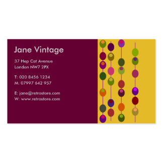 Cocktail Olives Business Card