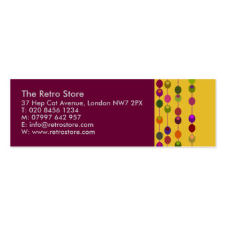 Cocktail Olives Mini Business Card