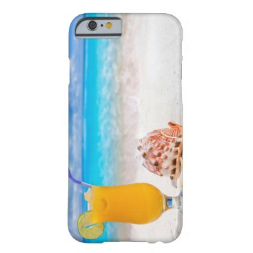Beach Themed Cocktail on the Beach I Barely There iPhone 6 Case