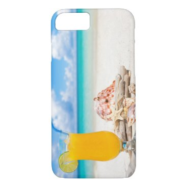 Beach Themed Cocktail on the Beach II iPhone 8/7 Case