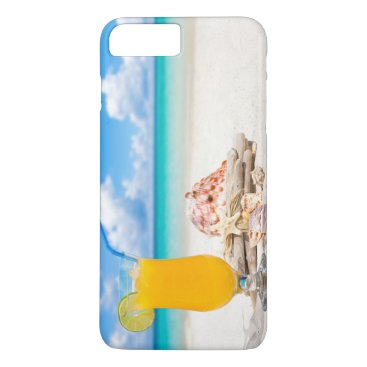 Beach Themed Cocktail on the Beach II iPhone 8 Plus/7 Plus Case