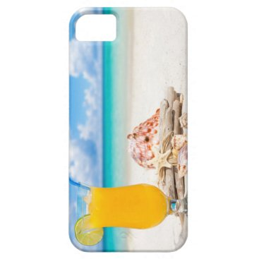 Beach Themed Cocktail on the Beach II iPhone SE/5/5s Case