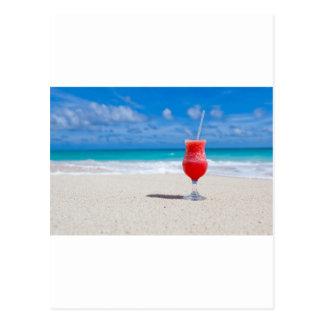 Cocktail on the Sand Postcard
