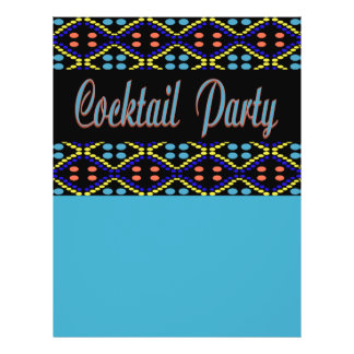 Cocktail Party Personalized Flyer