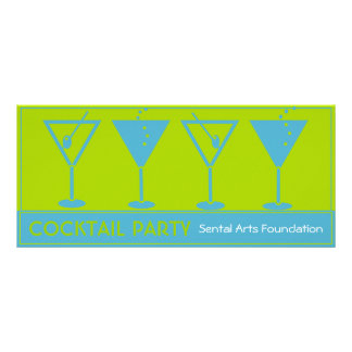 Cocktail Party-Fundraiser Invitation Rack Card