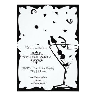 Cocktail Party Invitation Personalized Announcements
