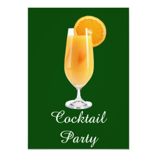 Cocktail Party 5x7 Paper Invitation Card