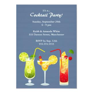 "Cocktail Party Invitation 4.5"" X 6.25"" Invitation Card"