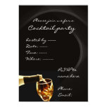 "Cocktail party invitations 5"" x 7"" invitation card"