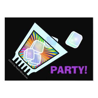 COCKTAIL PARTY INVITATIONS - PSYCHEDELIC COCKTAIL