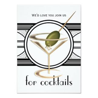 "Cocktail Party Medium Invitations 4.5"" X 6.25"" Invitation Card"