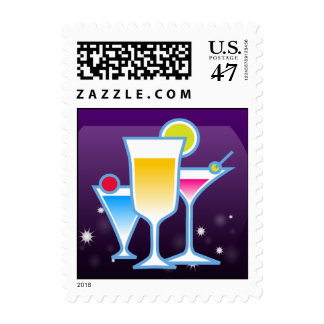 Cocktail Party Postage
