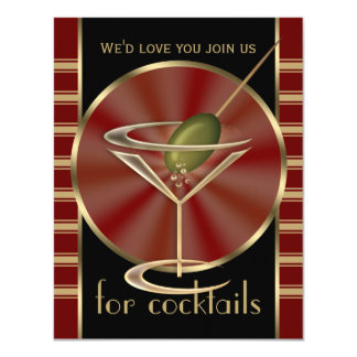 Cocktail Party Small Invitations