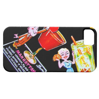 Cocktail Party Vintage Mad Men Style Phone Case