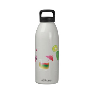 Cocktail Party Reusable Water Bottles